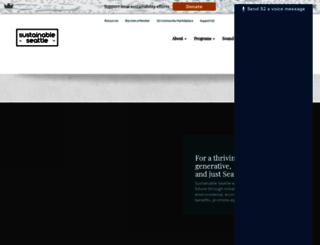 seattlegreendrinks.org screenshot