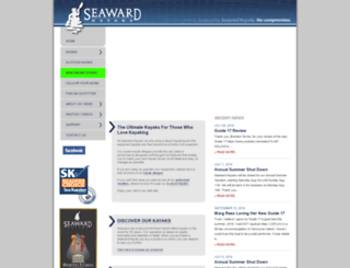 seawardkayaks.com screenshot