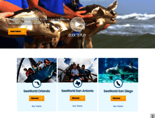 seaworld.com screenshot