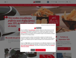 seb.fr screenshot