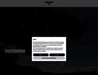 sebago.com screenshot