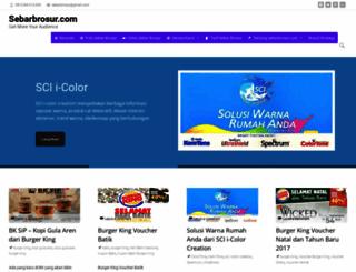 sebarbrosur.com screenshot