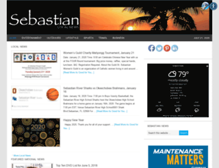 sebastianlocalnews.com screenshot