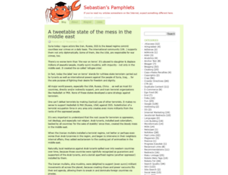 sebastians-pamphlets.com screenshot
