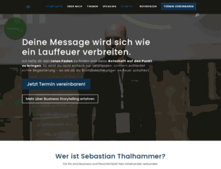 sebastianthalhammer.com screenshot