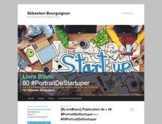 sebastienbourguignon.wordpress.com screenshot