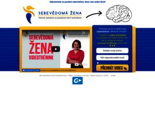 sebevedoma-zena.cz screenshot