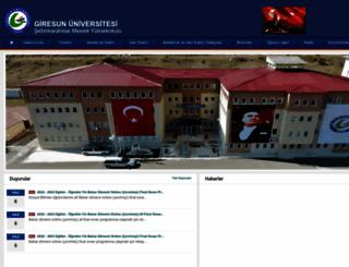 sebinmyo.giresun.edu.tr screenshot