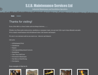 sebmaintenance.co.uk screenshot