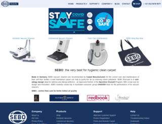 sebo.com.au screenshot