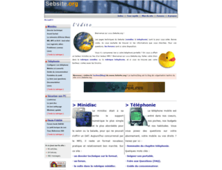 sebsite.org screenshot