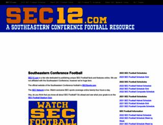 sec12.com screenshot