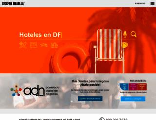 seccionamarilla.com.mx screenshot