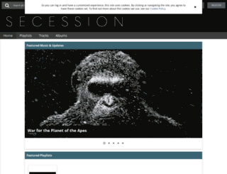 secession.sourceaudio.com screenshot