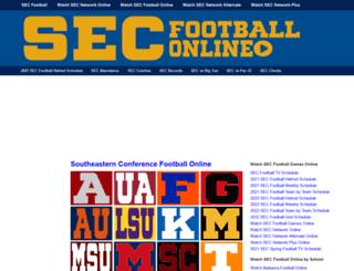 secfootballonline.com screenshot