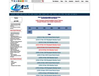 secim.iha.com.tr screenshot