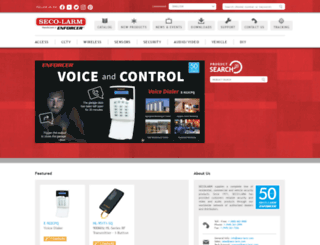 seco-larm.com screenshot