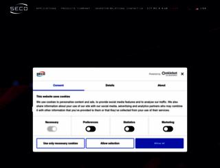 seco.com screenshot