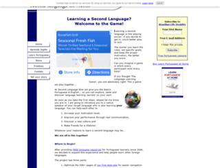 second-language-now.com screenshot