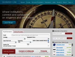 secondarylink.com screenshot