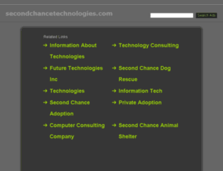 secondchancetechnologies.com screenshot