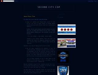 secondcitycop.blogspot.com screenshot