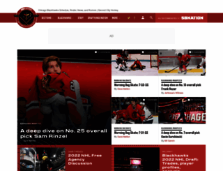 secondcityhockey.com screenshot