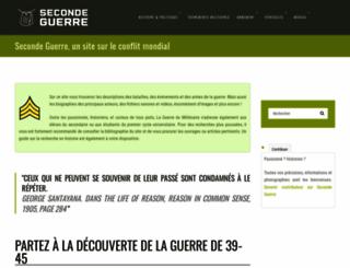 secondeguerre.net screenshot