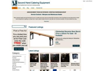 secondhandcateringequipment.co.uk screenshot