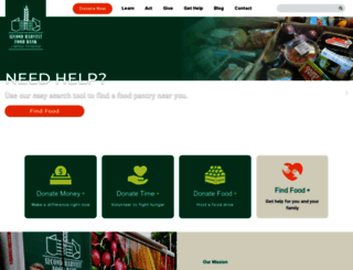 secondharvestmidtn.org screenshot