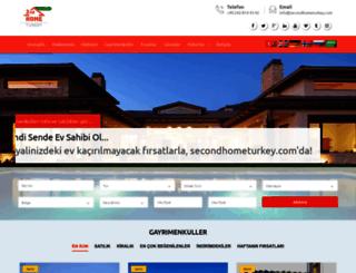 secondhometurkey.com screenshot