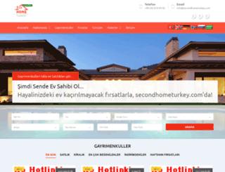 secondhometurkey.com.tr screenshot