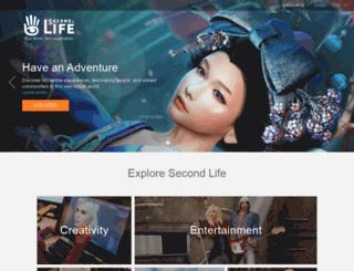 secondlifegrid.net screenshot
