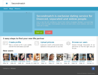 secondmatch.com screenshot