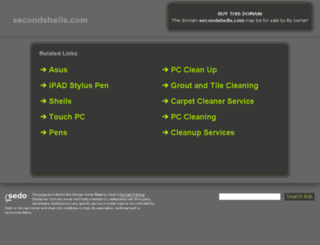 secondshells.com screenshot