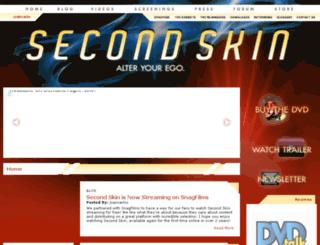 secondskinfilm.com screenshot