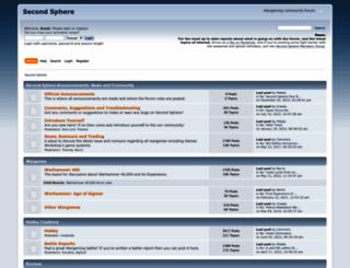 secondsphere.org screenshot