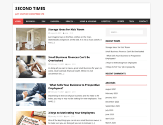 secondtimes.net screenshot