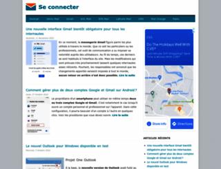 seconnecter.org screenshot