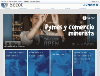 secot.org screenshot