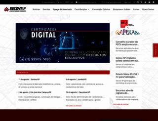 secovi.com.br screenshot