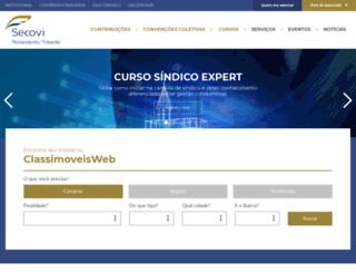 secovifloripa.com.br screenshot