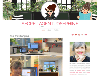 secret-agent-josephine.com screenshot