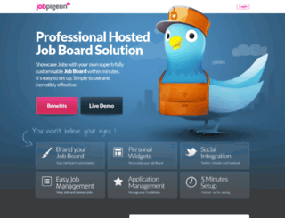 secret-escapes.jobpigeon.com screenshot