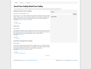 secret-forextrading.blogspot.com screenshot