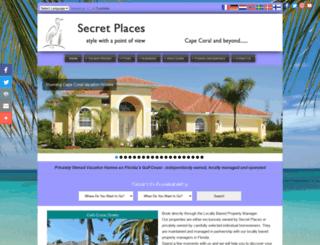 secret-places.com screenshot