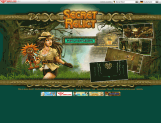 secret-relict.de screenshot