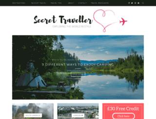 secret-traveller.com screenshot