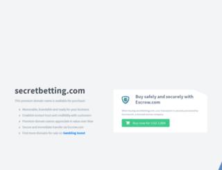 secretbetting.com screenshot