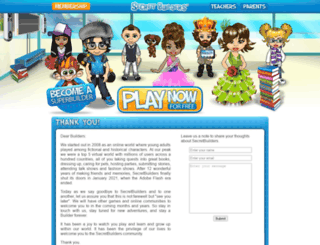 secretbuilders.com screenshot